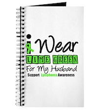 I Wear Lime Green Husband Journal