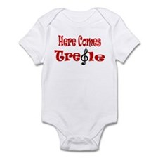 Here Comes Treble Infant Bodysuit