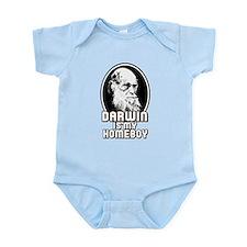 Darwin is my Homeboy Onesie