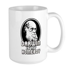 Darwin is my Homeboy Mug