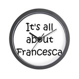 Cool Francesca Wall Clock