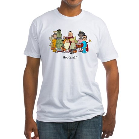 Got Candy? Fitted T-Shirt