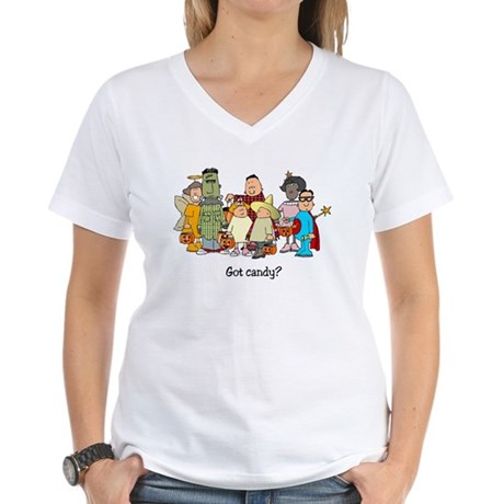 Got Candy? Women's V-Neck T-Shirt