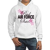 Proud Air Force Sister Jumper Hoody