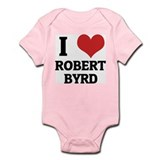 I Love Robert Byrd Infant Creeper