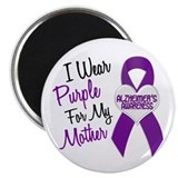 I Wear Purple For My Mother 18 (AD) Magnet