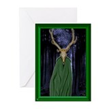 Horned God Blank Greeting Cards (Pk of 20)