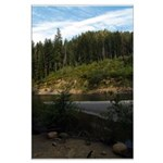 Eel River at Leggett Creek Large Poster