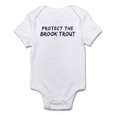 Protect the Brook Trout Infant Bodysuit
