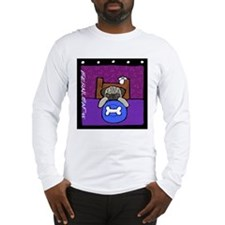 Pug Wants Pizza Long Sleeve T-Shirt