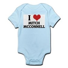 I Love Mitch McConnell Infant Creeper