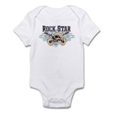 Rock Star Guitars Skulls Onesie