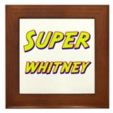 Super whitney Framed Tile