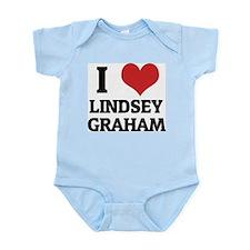 I Love Lindsey Graham Infant Creeper