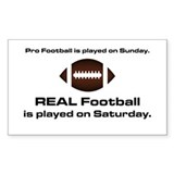 REAL Football Rectangle Decal