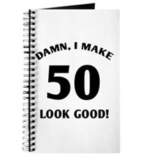 Sexy 50th Birthday Gift Journal