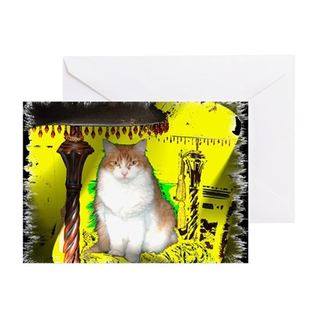 Pop Art Cat Greeting Cards (Pk of 10)