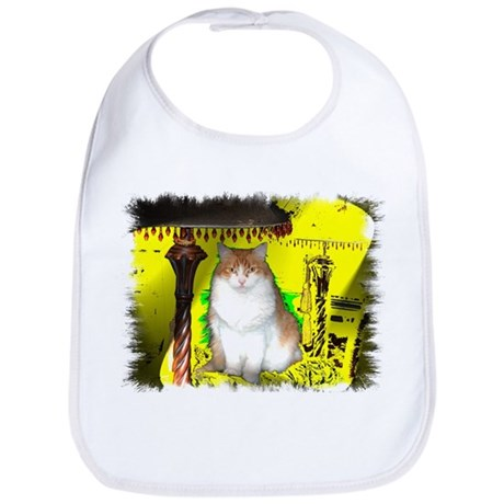 Pop Art Cat Bib