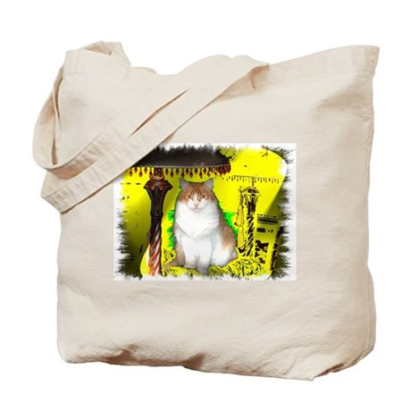 Pop Art Cat Tote Bag