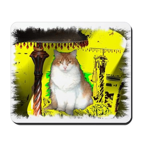 Pop Art Cat Mousepad