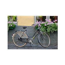 Brugge Bike Rectangle Magnet
