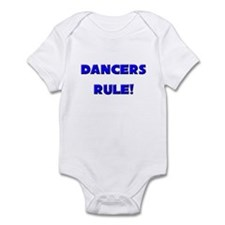 Dancers Rule! Infant Bodysuit