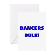 Dancers Rule! Greeting Cards (Pk of 10)