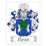 Ravizza Family Crest Small Poster