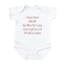 Unique Economic crisis Infant Bodysuit