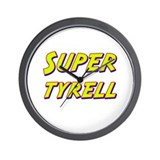 Super tyrell Wall Clock