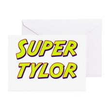 Super tylor Greeting Cards (Pk of 10)