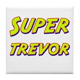 Super trevor Tile Coaster