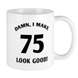 Sexy 75th Birthday Gift Mug