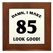 Sexy 85th Birthday Gift Framed Tile