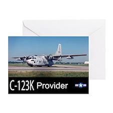 C-123 Provider Greeting Card