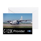 C-123 Provider Greeting Cards (Pk of 10)