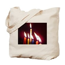 """Hanukkah Candles"" Tote Bag"