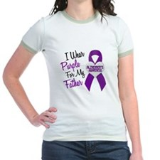 I Wear Purple For My Father 18 (AD) T