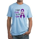 I Wear Purple For My Father 18 (AD) Shirt