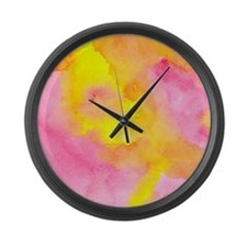 Cute Arwork Large Wall Clock