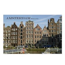 Amsterdam Postcards (Package of 8)