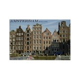 Amsterdam Rectangle Magnet