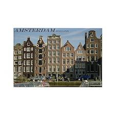 Amsterdam Rectangle Magnet