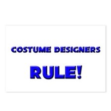 Costume Designers Rule! Postcards (Package of 8)