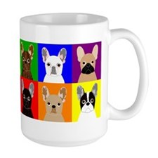 Rainbow Frenchies Mug