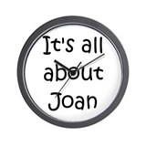 Cute Joan Wall Clock