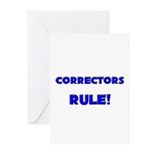 Correctors Rule! Greeting Cards (Pk of 10)
