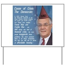 Unique Barney frank Yard Sign