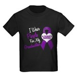 I Wear Purple For My Grandmother 18 (AD) T