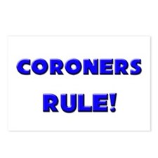 Coroners Rule! Postcards (Package of 8)